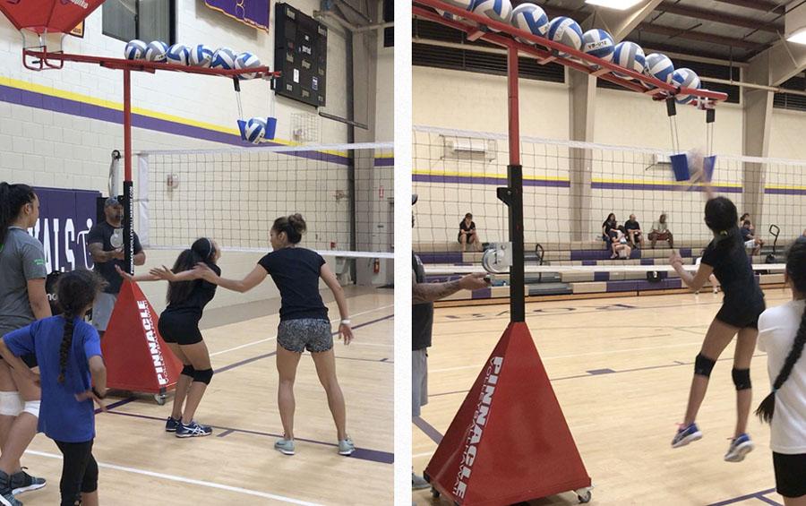 Volleyball Clinics Hawaii Semi Private Volleyball Training Clinics